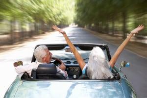 bigstock-Senior-couple-in-sports-car-23188541
